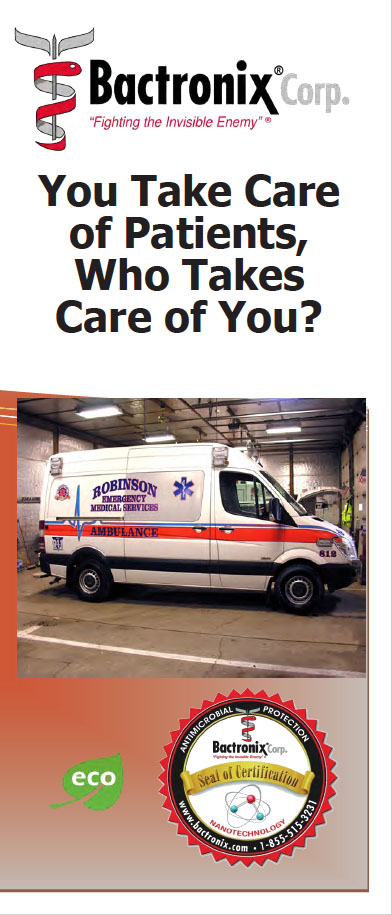 Disinfecting and Sanitizing EMS - Ambulances and Emergency Vehicles