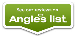 Angie's List icon representing customer reviews of mold treatment company Bactronix, which services Pittsburgh, PA
